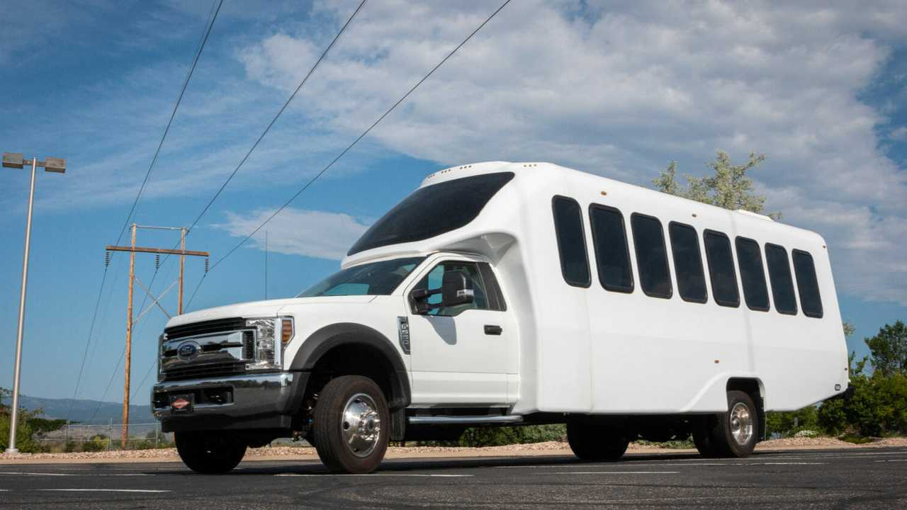 The all-electric Ford F-550 joins the Lightning Electric line-up