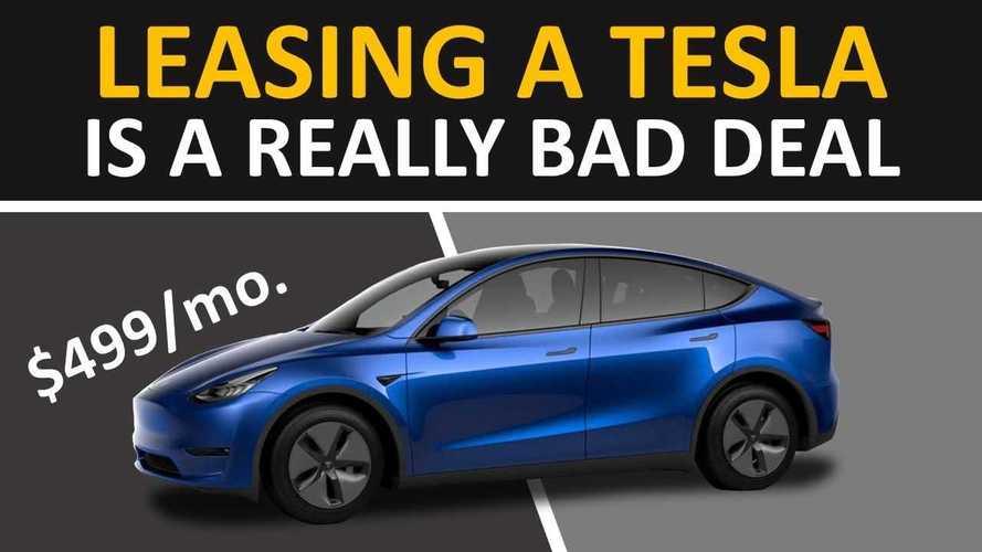 Is Leasing A Tesla Model Y Or Model 3 A Bad Idea?