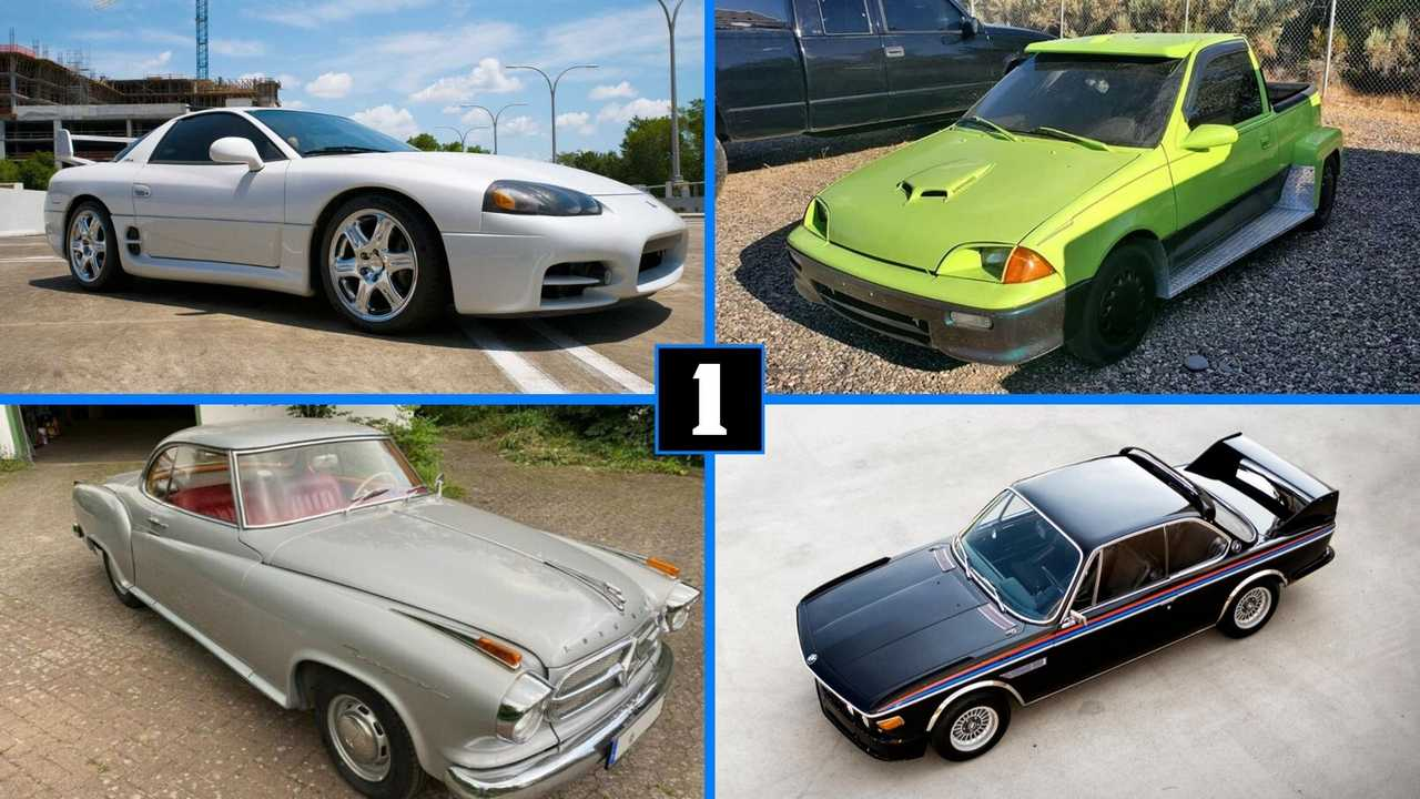 Coolest cars for sale, July 22, lead image
