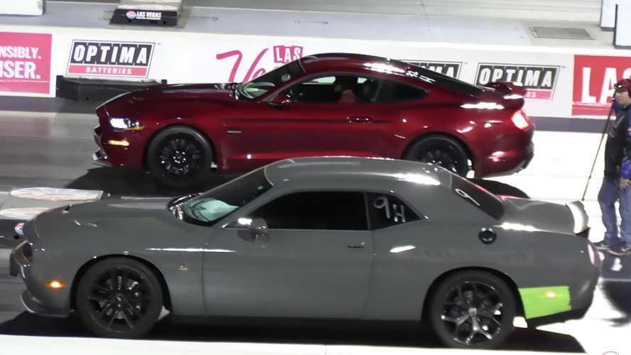 Dodge Scat Pack Drag Racing