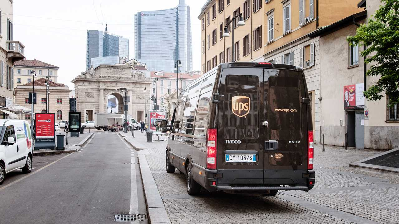 UPS Van Milano