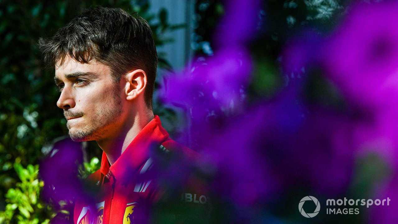 Charles Leclerc at Australian GP 2020