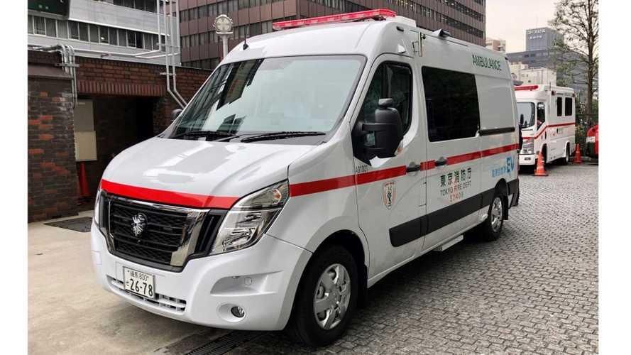 Nissan Deploys Zero Emission Ambulance In Tokyo