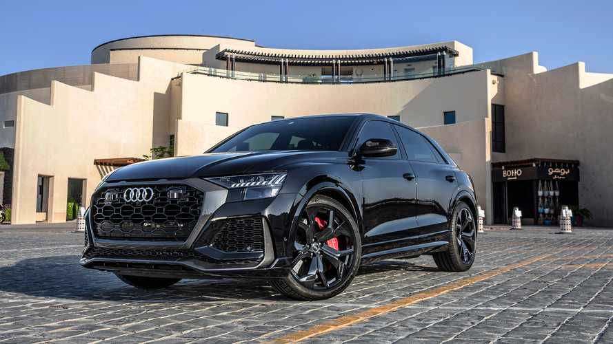 Audi RS Q8 without gasoline particulate filter
