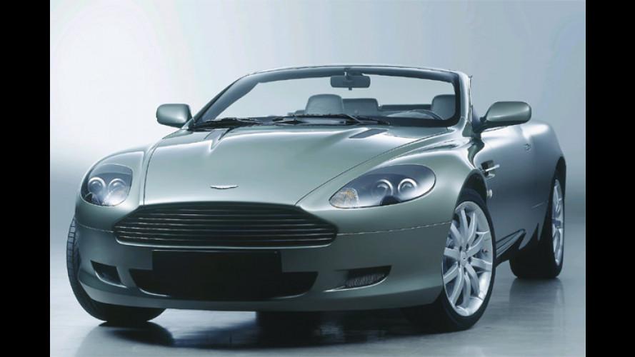 Delikater Aufschnitt: Aston Martin DB9 Volante kommt
