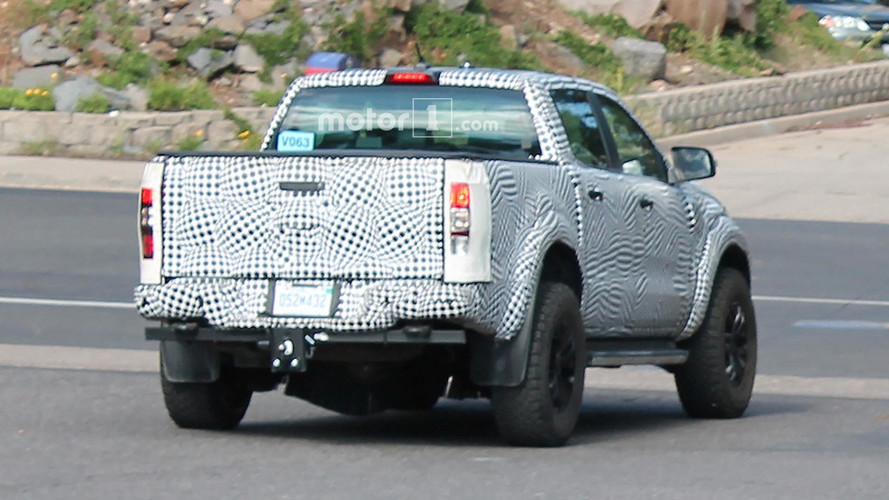 Ford Ranger 'Raptor' Spied Up Close And In Detail