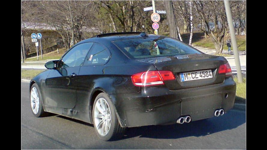 BMW M3 Coupé: Erlkönig wirft Serien-Schatten voraus