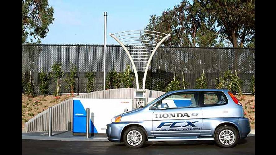 Honda forscht: Wasserstoff-Tankstelle im eigenen Garten