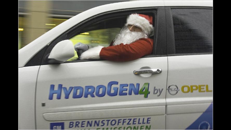 Saubere Bescherung: Der Weihnachtsmann kommt abgasfrei
