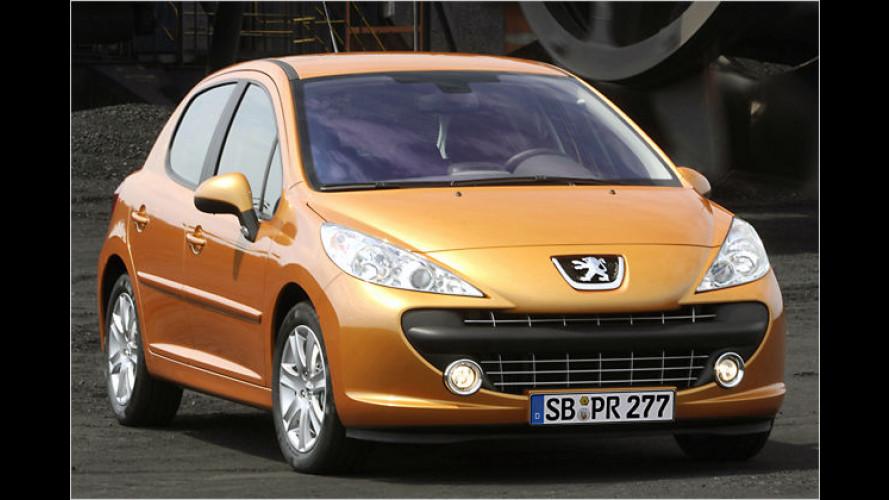Peugeot: 207 Sport 120 VTi jetzt auch mit Handschaltung