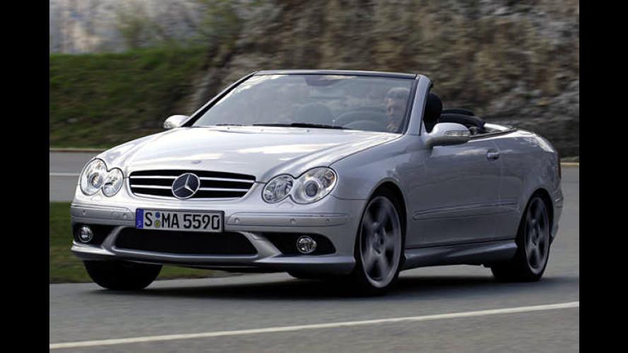 Mercedes gibt Acht: CLK-Klasse mit neuem V8-Motor