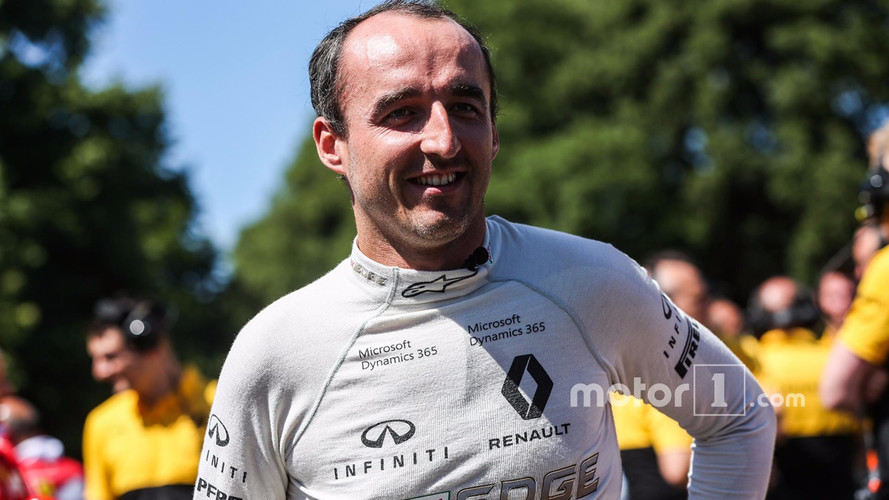 Robert Kubica Not In Frame For 2017 Race Chance, Insists Renault