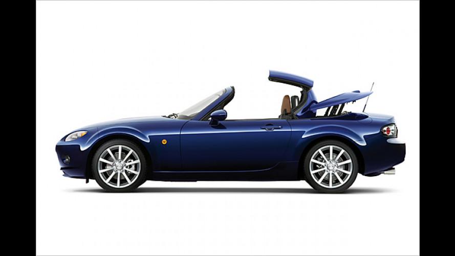 Mazda MX-5 kommt mit elektrisch bedientem Klappdach