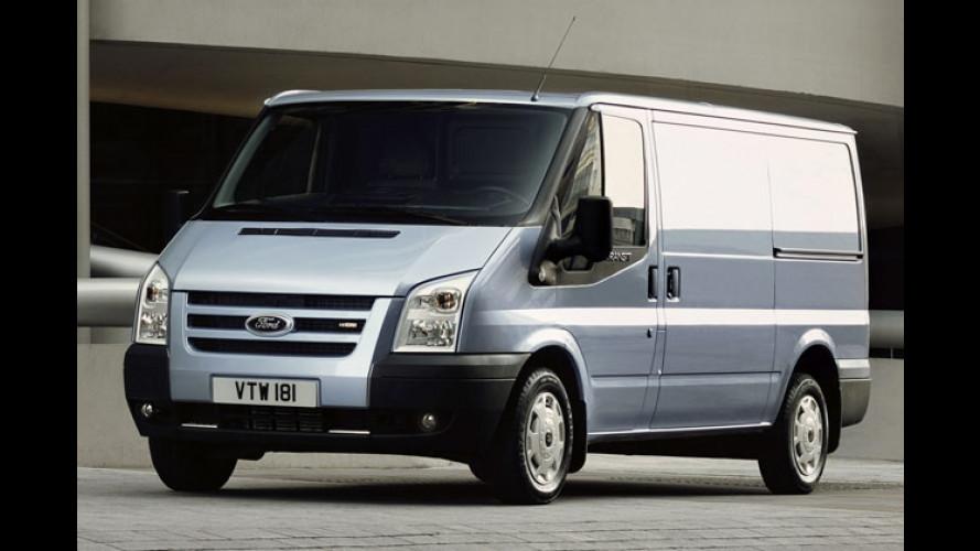 Ford Transit: Neuauflage kommt mit völlig neuer Front