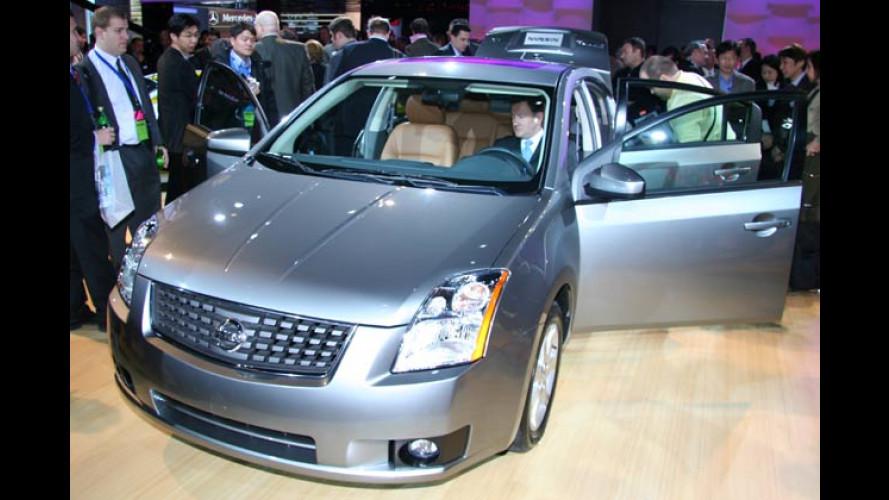 Nissan Sentra in sechster Generation: Eine Stufe höher