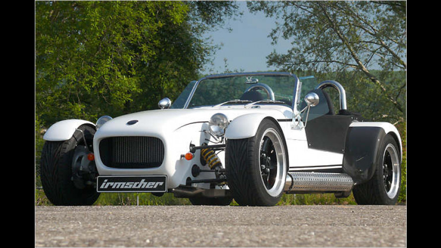 Irmscher 7 Turbo: Retro-Roadster ist stärker geworden