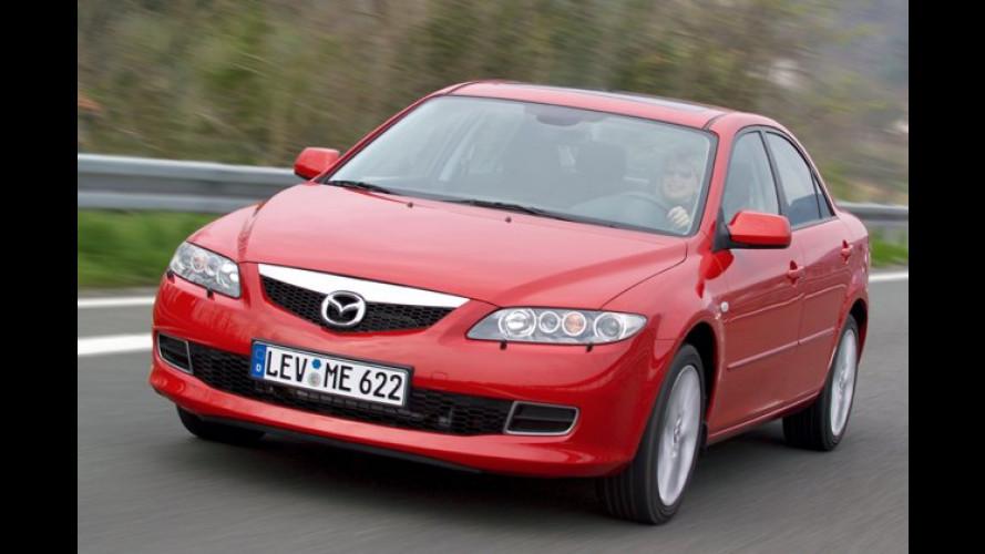 Mazda 6: Überarbeitete Motoren, Partikelfilter und Facelift