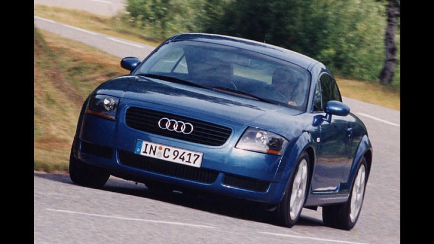 Audi TT: Mehr Leistung für den Ingolstädter Sportler