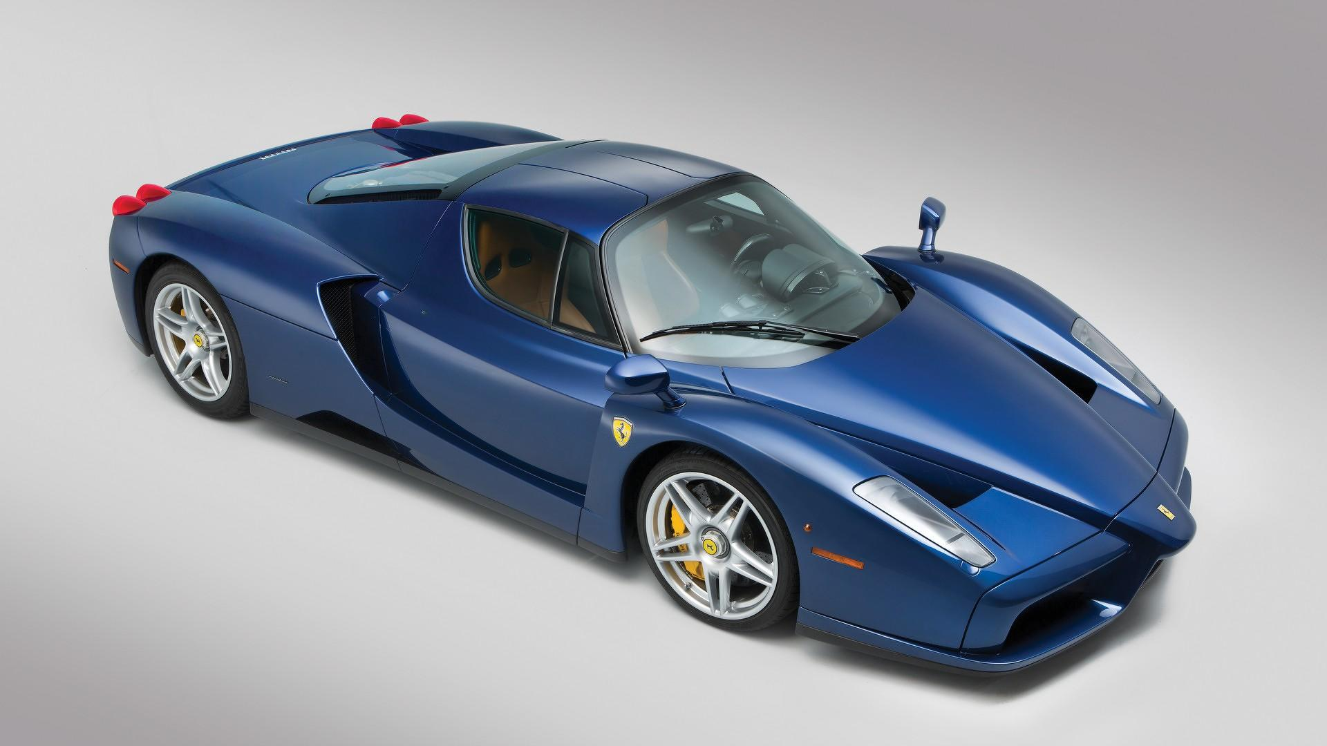Beautiful Blue Ferrari Enzo Sells For 2 4m At Auction Update