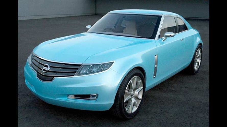 Nissan Foria: Elegantes Retro-Coupé mit vier Türen