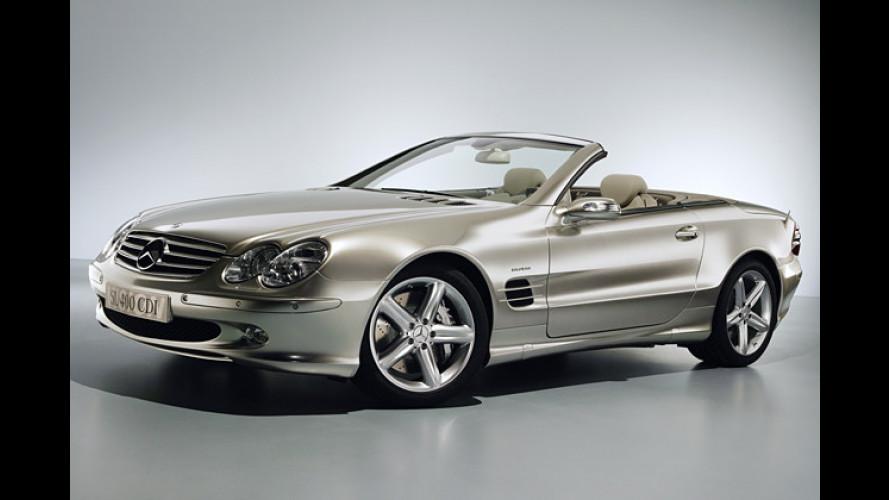 Mercedes lässt das Dieseln nicht: Studien-Feuerwerk in Genf