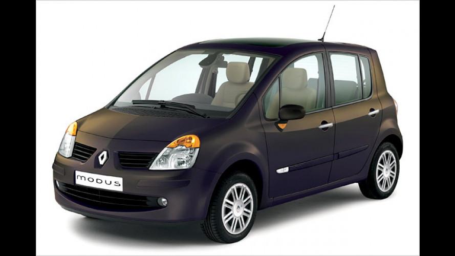 Renault Modus Initiale: Fahren im Luxus-Modus