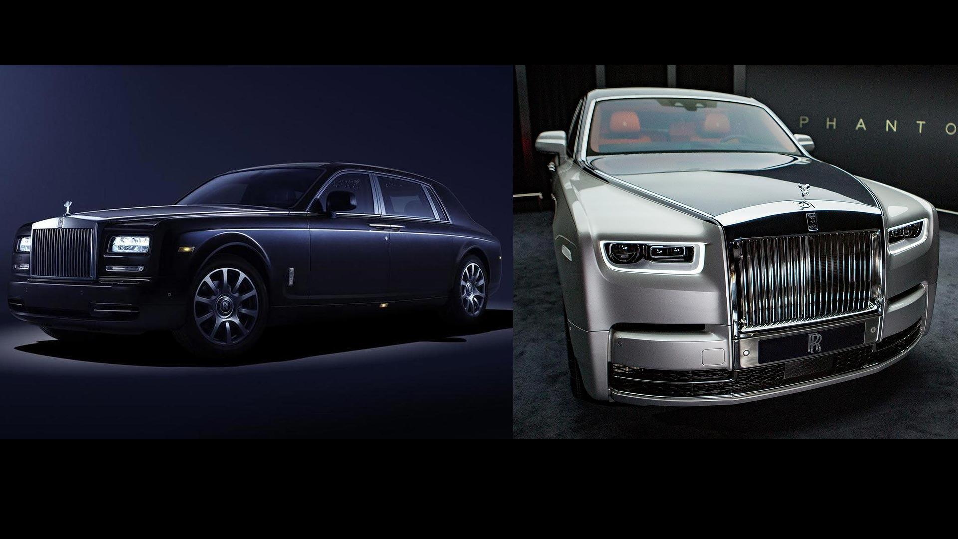 2018 Rolls Royce Phantom See The Changes Side By Side