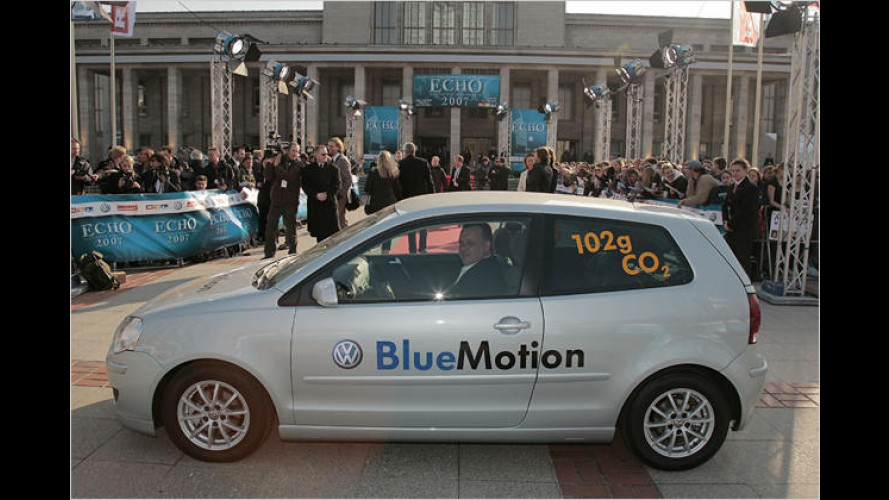 VW beim Echo-Preis: DJ Ötzi steuert den Sauber-Polo