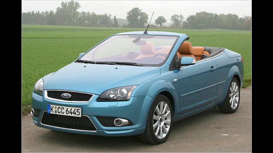 Ford Focus Coupé-Cabrio: Kölner Klapp-Künstler