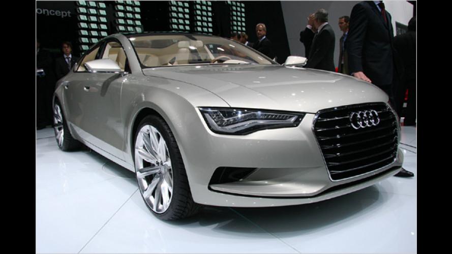 Audi Sportback concept: Vorhang auf für den A7