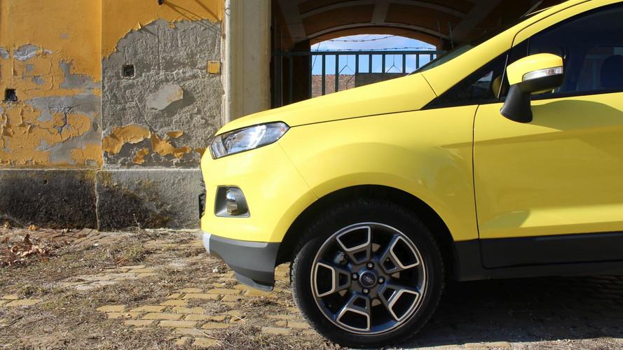 Ford EcoSport 1.0 Ecoboost Titanium Teszt