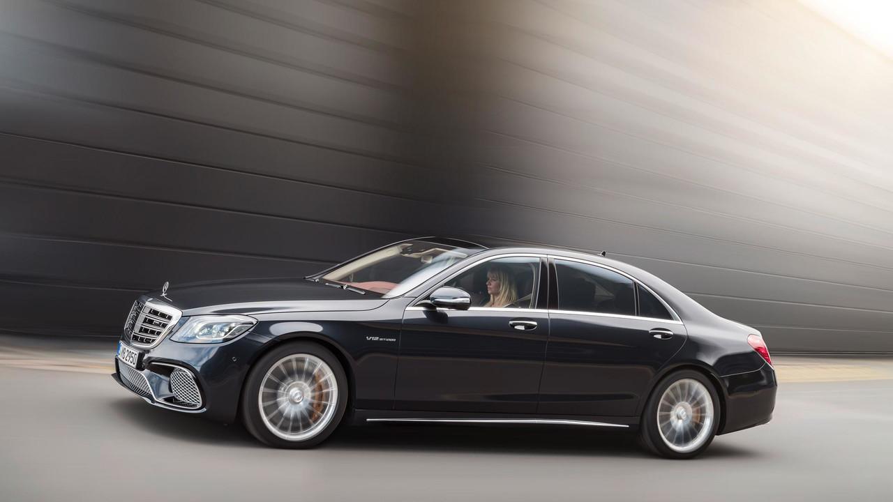 Self-driving Mercedes S-Class