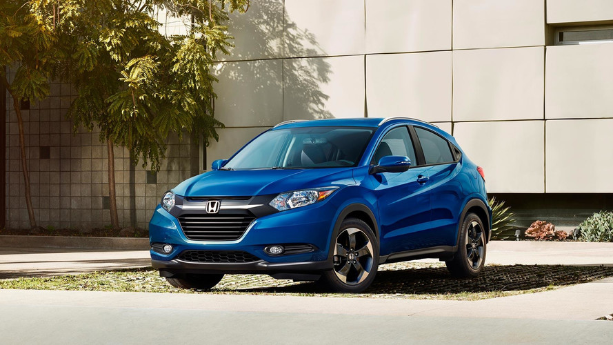Honda Hr V Minor Change 2018 >> 2018 Honda HR-V Debuts In New Color, Hopes To Keep Sales Crown