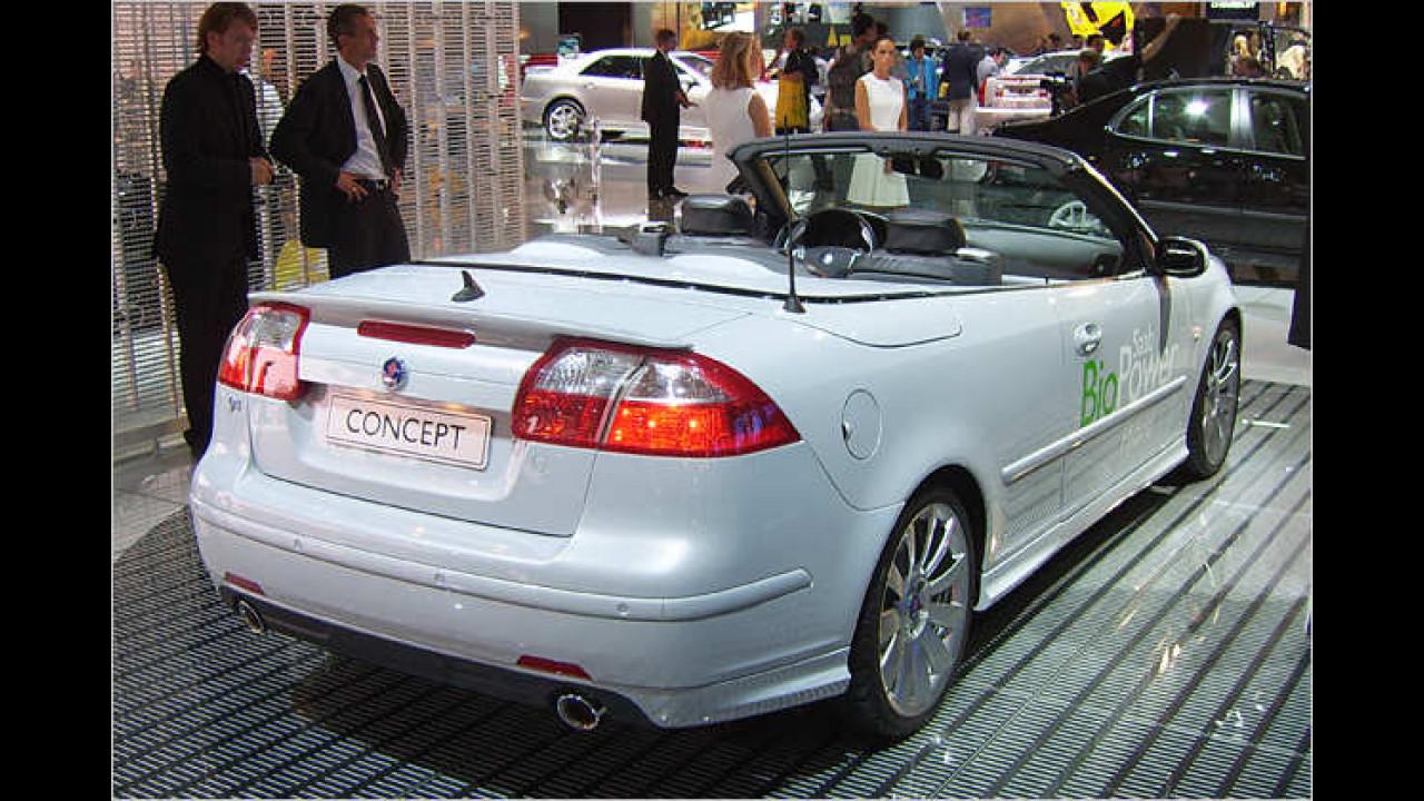 Saab 9-3 Cabrio BioPower Hybrid Concept