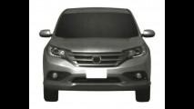 Segredo revelado: Vazam as primeiras imagens de patente da nova geração do Honda CR-V