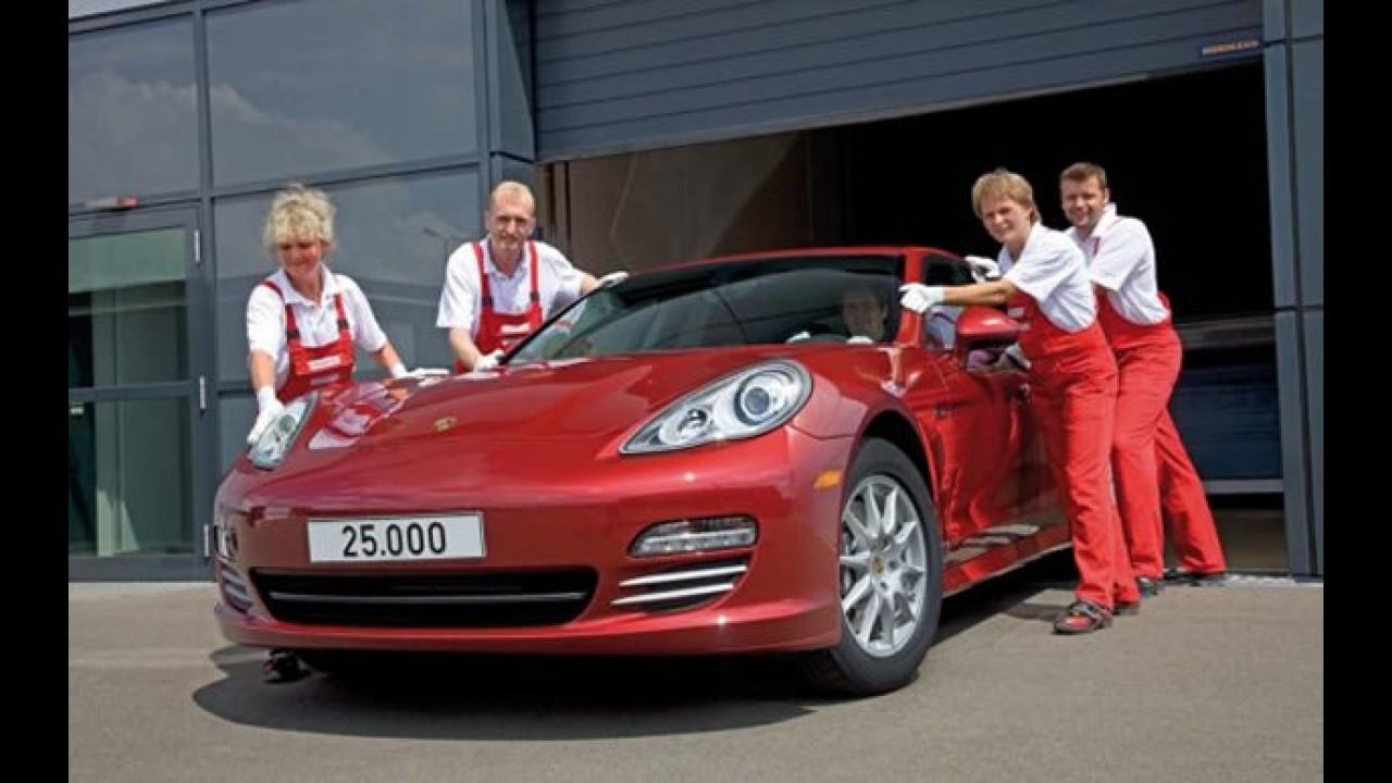 Porsche comemora a produção de 25 mil unidades do Panamera