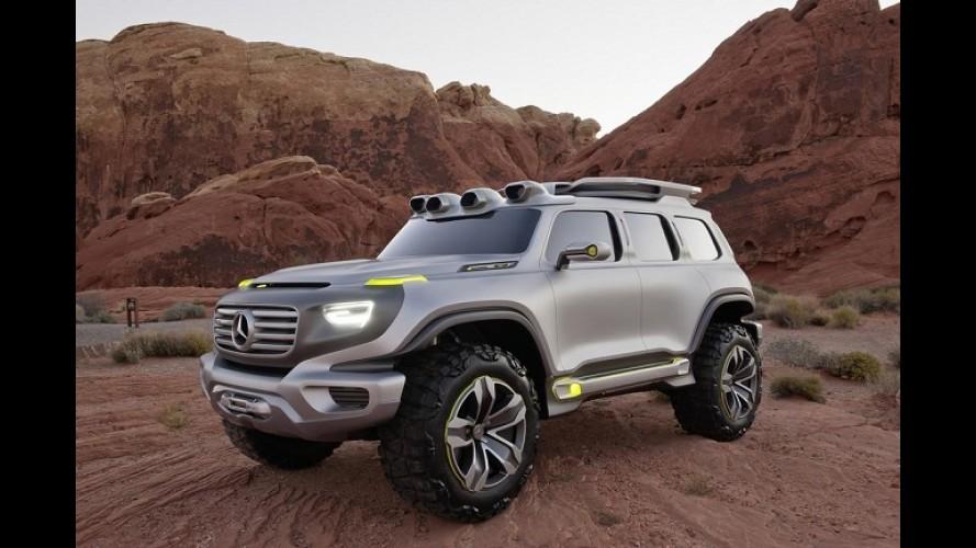 Futuro Classe G? Mercedes apresentará conceito Ener-G-Force em Los Angeles