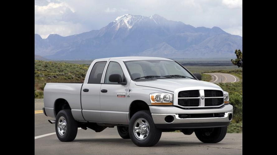 Chrysler convoca 2.300 unidades da picape Dodge RAM para recall no Brasil