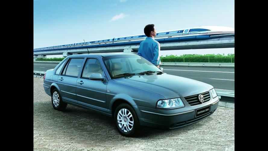 Velho guerreiro: Volkswagen Santana ganhará uma nova geração na China em 2012