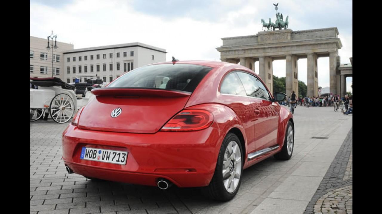 Novo Fusca: VW acredita no sucesso do Novo Beetle entre os homens e mais jovens