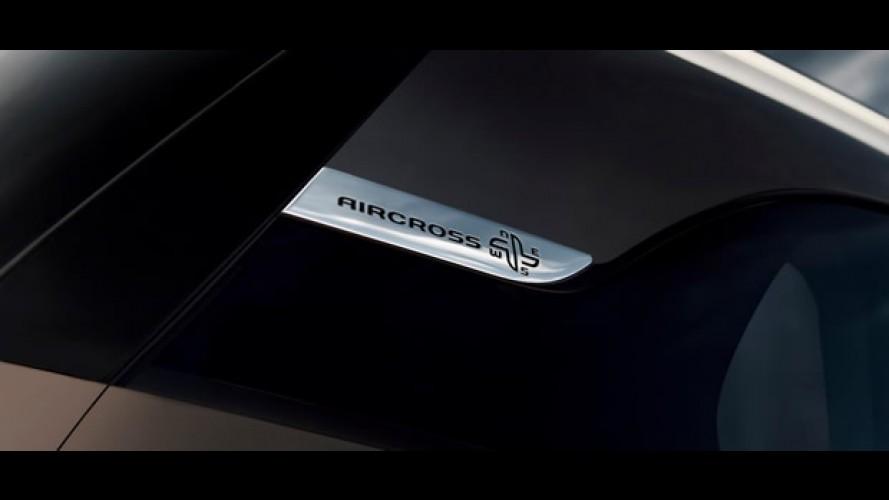 Citroën revela: Novo C4 AirCross será divulgado esta semana