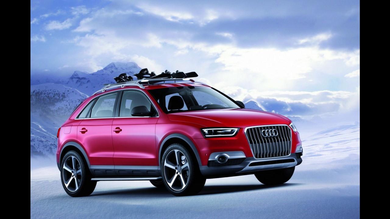 Salão de Detroit: Audi apresenta Q3 Vail Concept