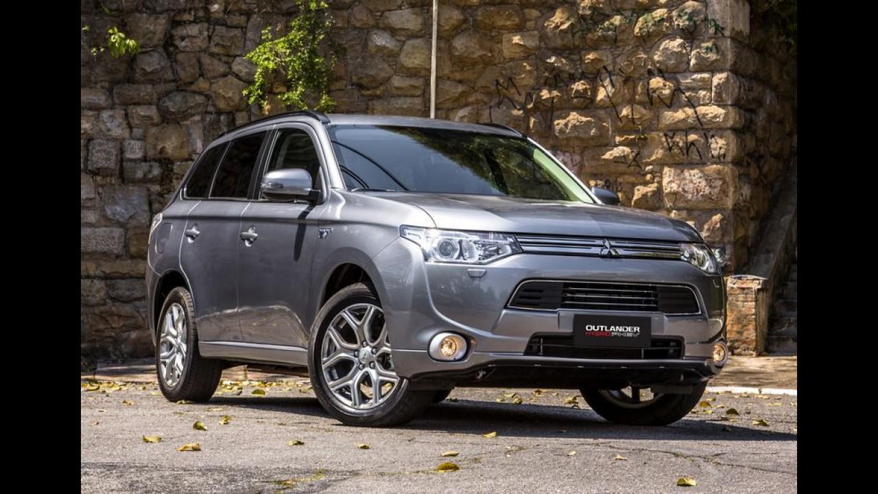Mitsubishi anuncia o lançamento do híbrido Outlander PHEV no Brasil
