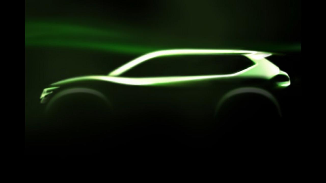 Nissan divulga imagem do crossover Hi-Cross Concept que mostrará em Genebra