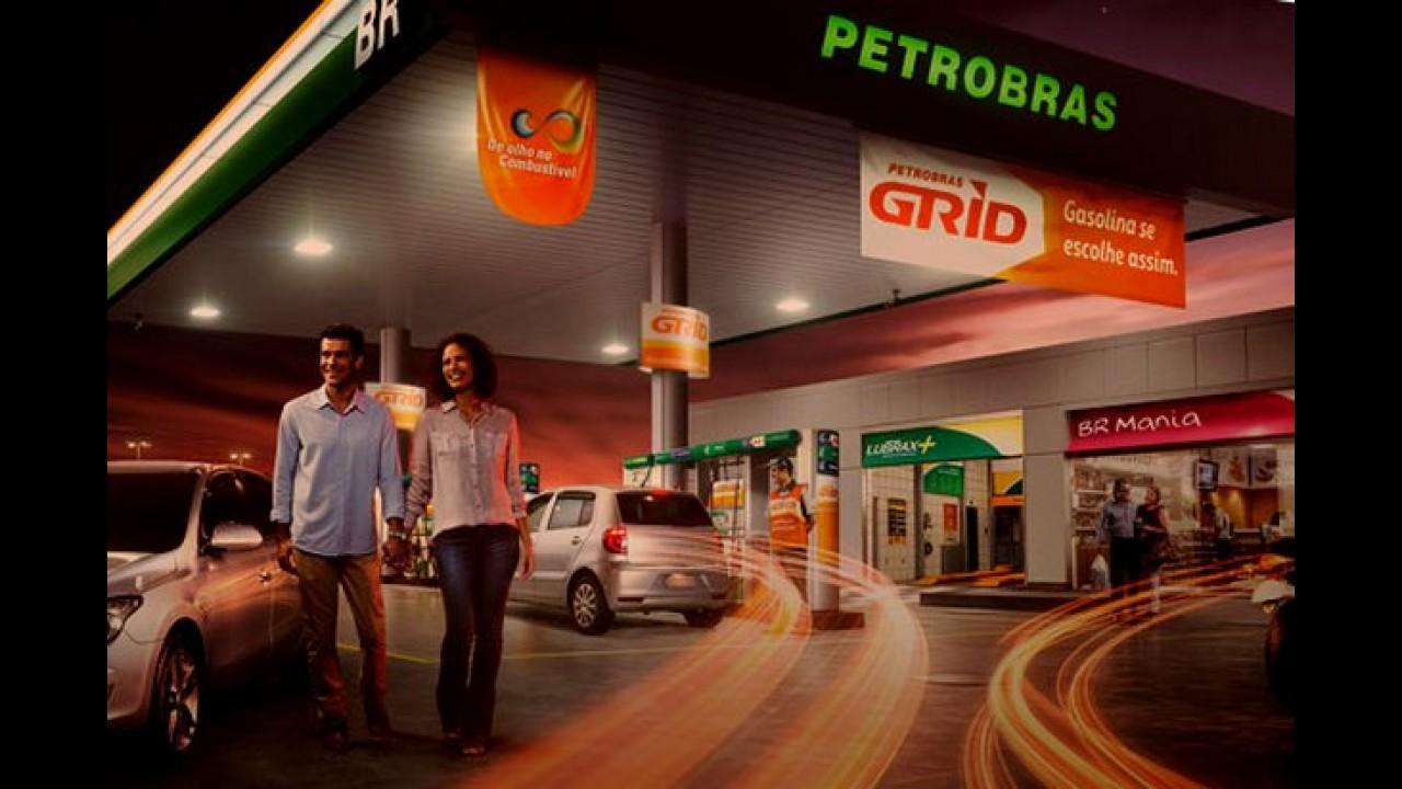 Petrobras lança gasolina aditivada Grid, que promete menos atrito