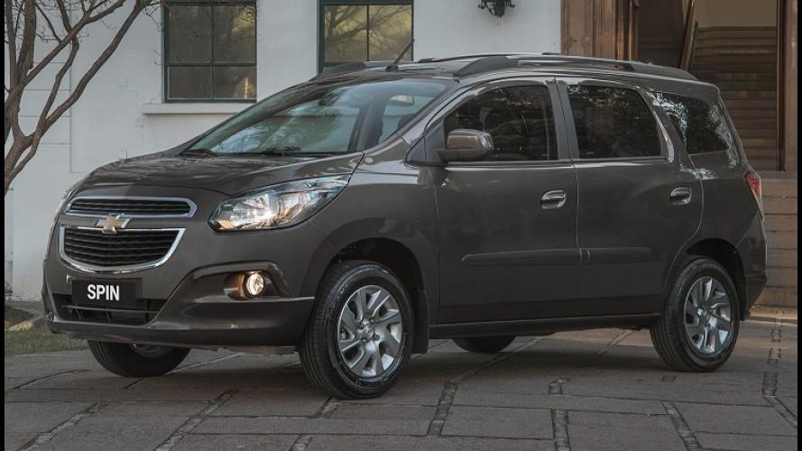 Chevrolet Spin 2015 ganha novos acessórios e tem preço inicial de R$ 49,8 mil