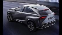 Lexus vai mostrar LF-NX Concept Turbo no Salão de Tóquio