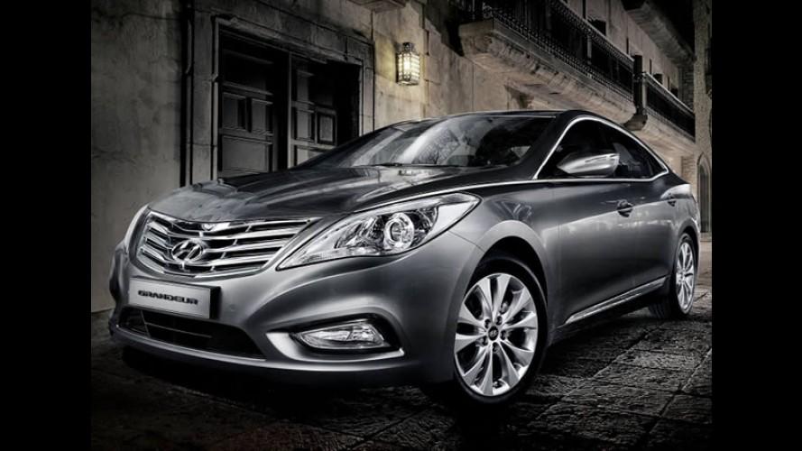 Novo Hyundai Azera 2012 já está chegando ao Brasil - Modelo já aparece em comercial de TV