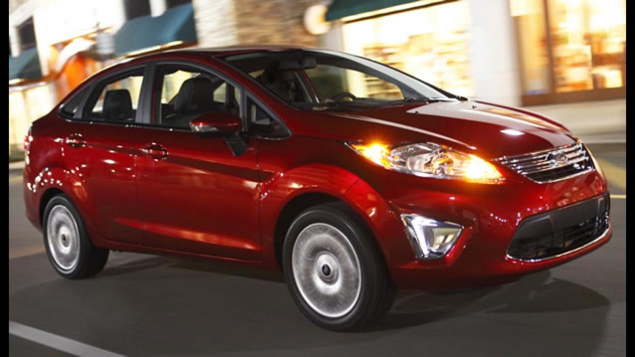 Veja todos os detalhes em fotos do Novo Fiesta hatch e sedan que chegará ao Brasil em 2011