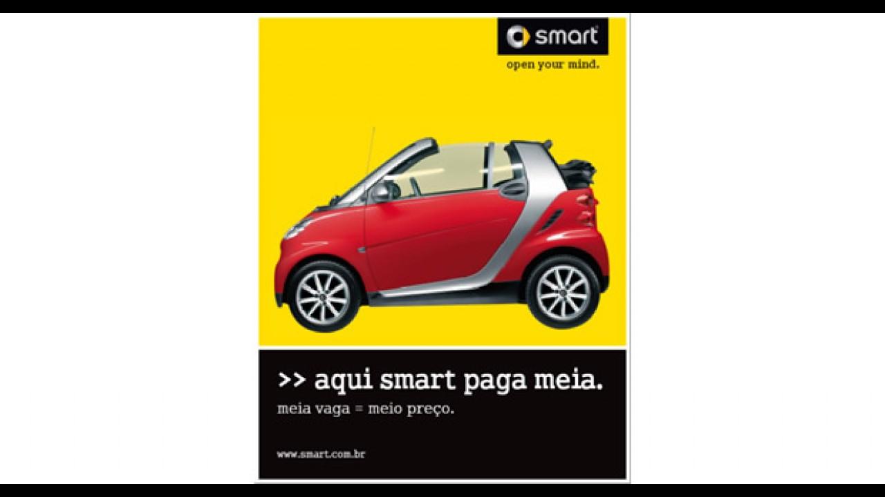 Paga-meia - Smarts tinham 50% de desconto em estacionamento de shopping em SP